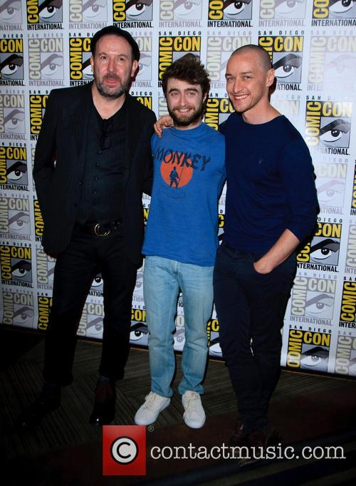 Paul Mcguigan, James Mcavoy and Daniel Radcliffe 1