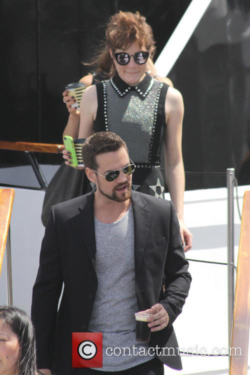 Shane West and Tamzin Merchant