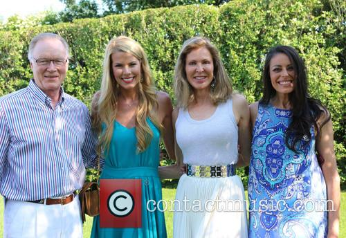 Chuck Scarborough, Beth Stern, Ellen Scarborough and Michelle Montak 1