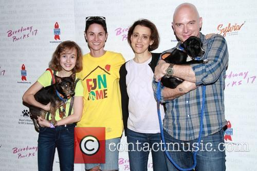 Sydney Lucas, Beth Malone, Judy Kuhn and Michael Cerveris 1