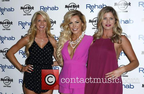 Crystal Hefner DJ's at REHAB