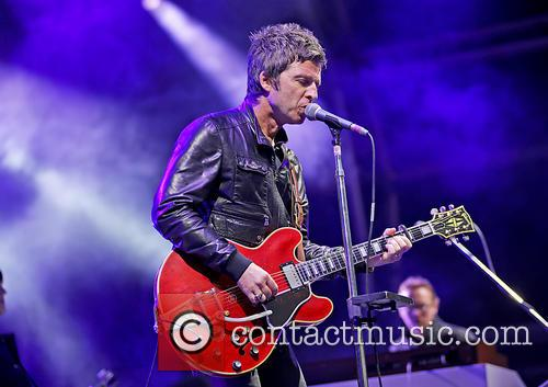 Noel Gallagher's High Flying Birds performing at Manchester...