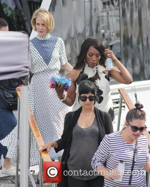 Sarah Paulson and Angela Bassett 1