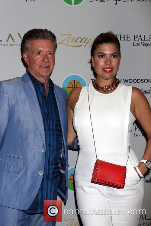Alan Thicke and Tanya Callau 1