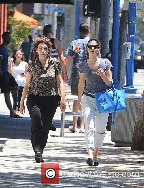 Emmy Rossum and Cheryl Rossum 2