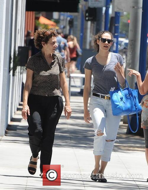 Emmy Rossum and Cheryl Rossum 8