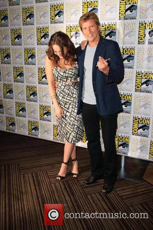 Elizabeth Gillies and Denis Leary 6