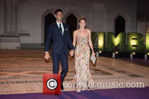 Novak Djokovic and Jelena Djokovic 2