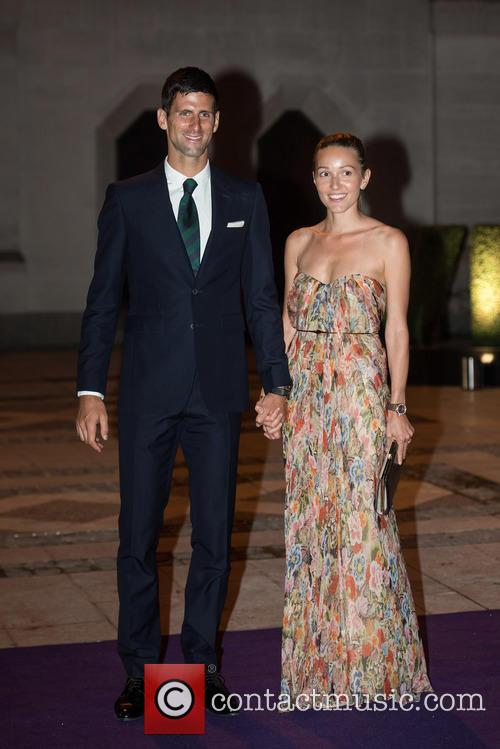 Novak Djokovic and Jelena Djokovic 3