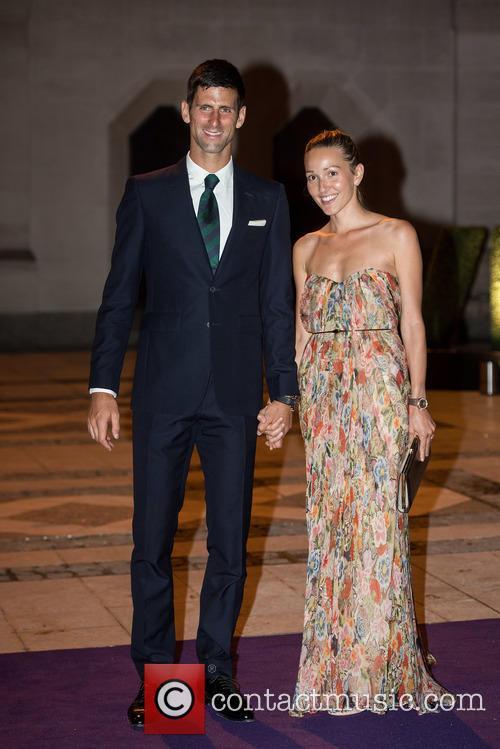 Novak Djokovic and Jelena Djokovic 4