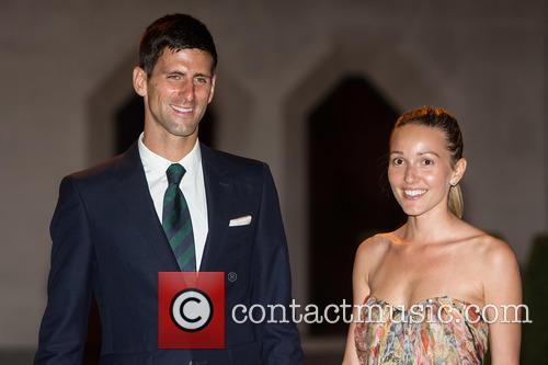 Novak Djokovic and Jelena Djokovic 5
