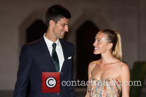 Novak Djokovic and Jelena Djokovic 1