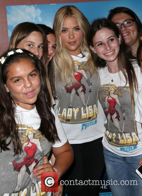 Ashley Benson and Fans 10