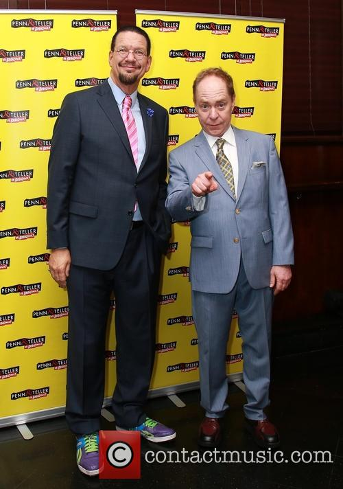 Penn Jillette and Teller 2