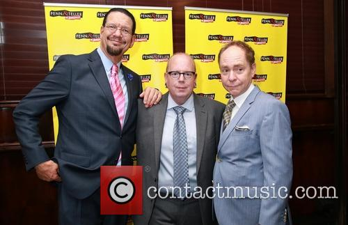 Penn Jillette, Mike Jones and Teller 4