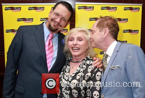 Penn Jillette, Debbie Harry and Teller 6