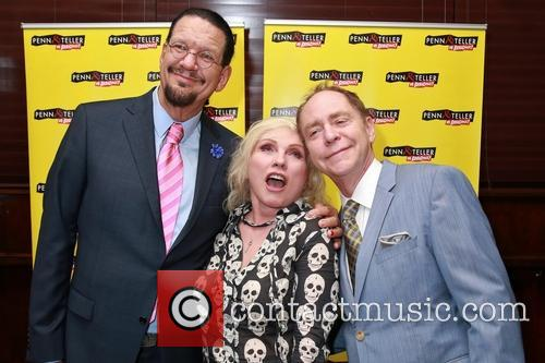Penn Jillette, Debbie Harry and Teller 1