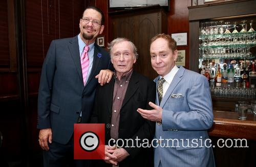Penn Jillette, Dick Cavett and Teller 7