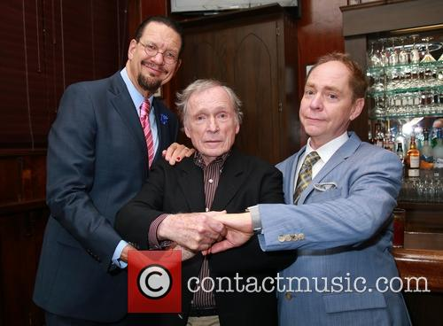 Penn Jillette, Dick Cavett and Teller