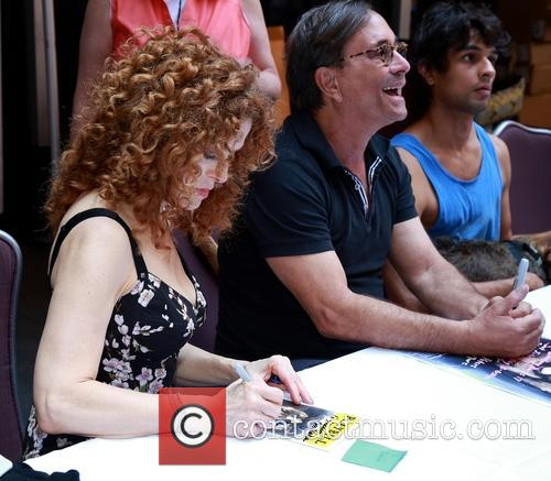 Bernadette Peters and Ross Bleckner 2