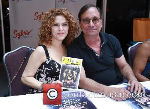 Bernadette Peters and Ross Bleckner 5