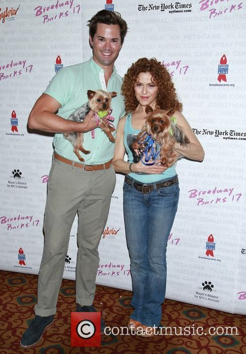 Andrew Rannells and Bernadette Peters 2
