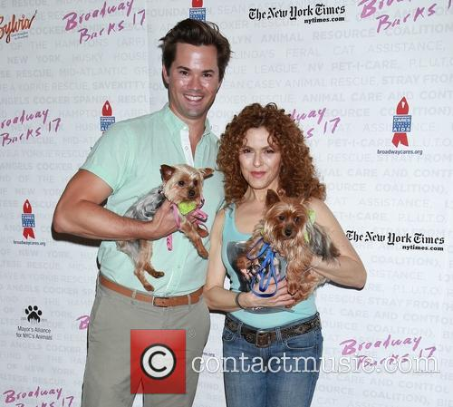 Andrew Rannells and Bernadette Peters 3