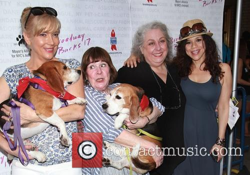 Glenne Headly, Marylouise Burke, Jayne Houdyshell and Rosie Perez 3