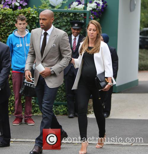 Thierry Henry and Andrea Rajacic 9