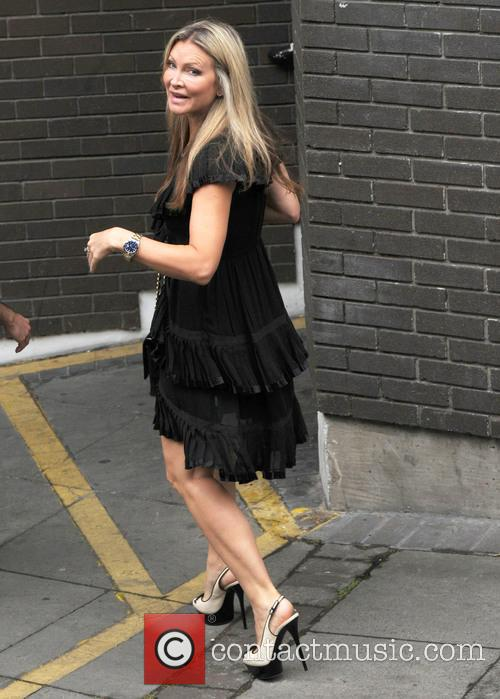 Caprice out in LondonCaprice Bourret at ITV