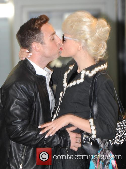 Chloe Jasmine and Stevi Ritchie at ITV