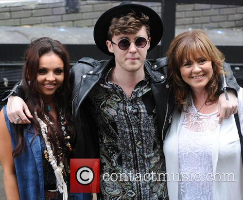 Jesy Nelson, Jake Roche and Coleen Nolan 6