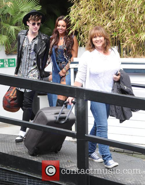 Jesy Nelson, Jake Roche and Coleen Nolan 3
