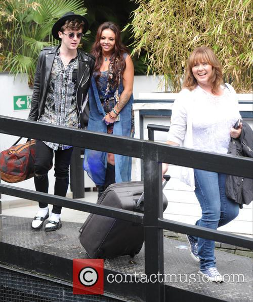 Jesy Nelson, Jake Roche and Coleen Nolan 4
