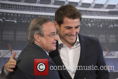 Iker Casillas and Florentino Perez 7