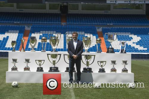 Iker Casillas at a press conference