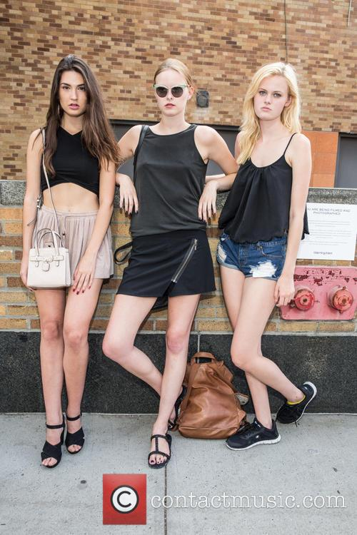 Mason, Cristina Martinez ( Gns Models) and Vera Luijendijk ( Img Models) 2