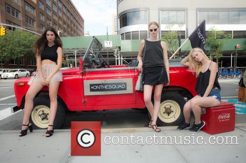 Mason, Cristina Martinez ( Gns Models) and Vera Luijendijk ( Img Models) 3