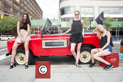 Mason, Cristina Martinez ( Gns Models) and Vera Luijendijk ( Img Models) 1