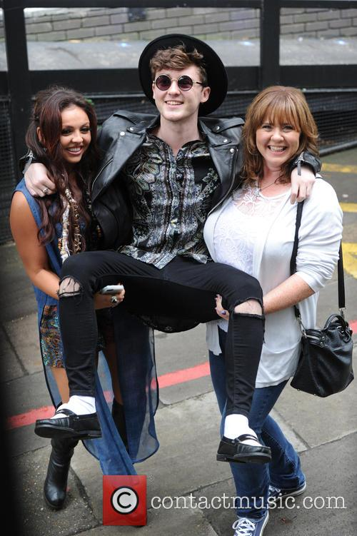 Coleen Nolan, Jake Roche and Jesy Nelson 1
