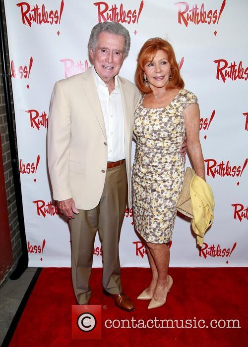 Regis Philbin and Joy Philbin 2