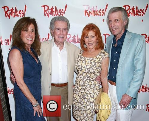 Janet Schur, Regis Philbin, Joy Philbin and Ken Schur 2