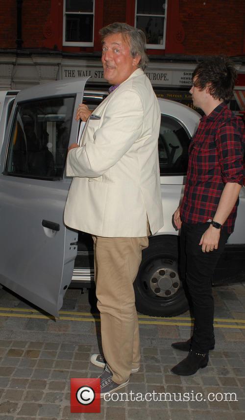 Stephen Fry and Elliott Spencer 2