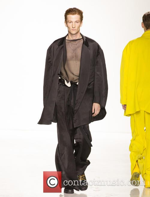 Cfda New York Men's, Fashion Week, Duckie Browne and Catwalk 1