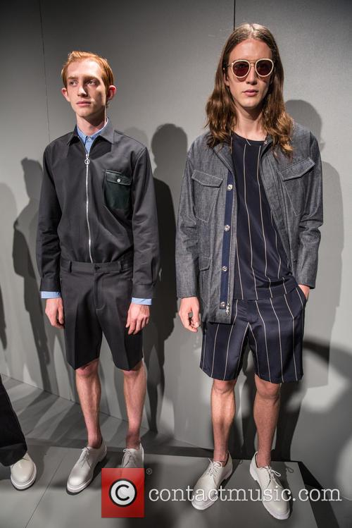 Men's Fashion Week, New York City and Timo Weiland Presentation 2