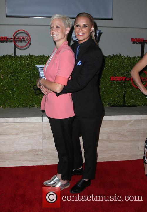 Ashlyn Harris and Megan Rapinoe 1