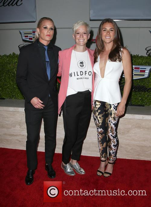 Ashlyn Harris, Megan Rapinoe and Kelley O'hara 9