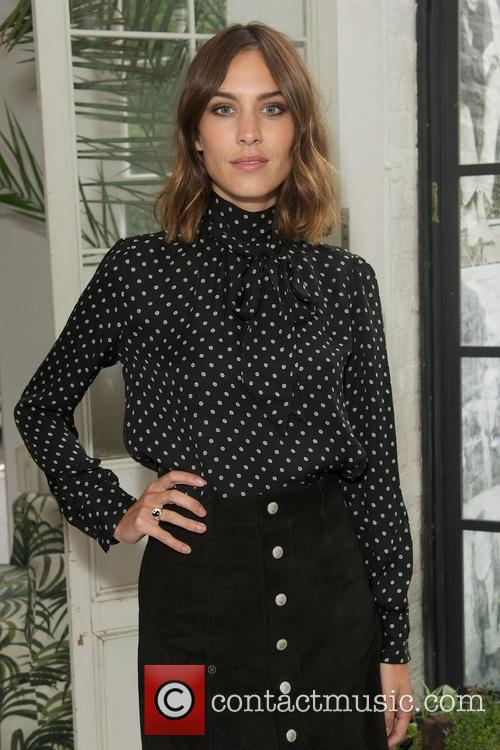 Alexa Chung for AG AW15 Collection Private Dinner...