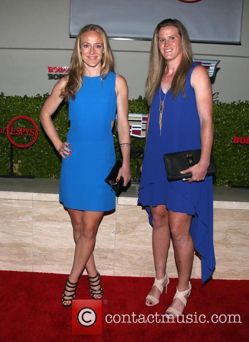 Becky Sauerbrunn and Alyssa Naher 11