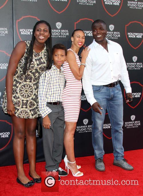 Reno Wilson and Family